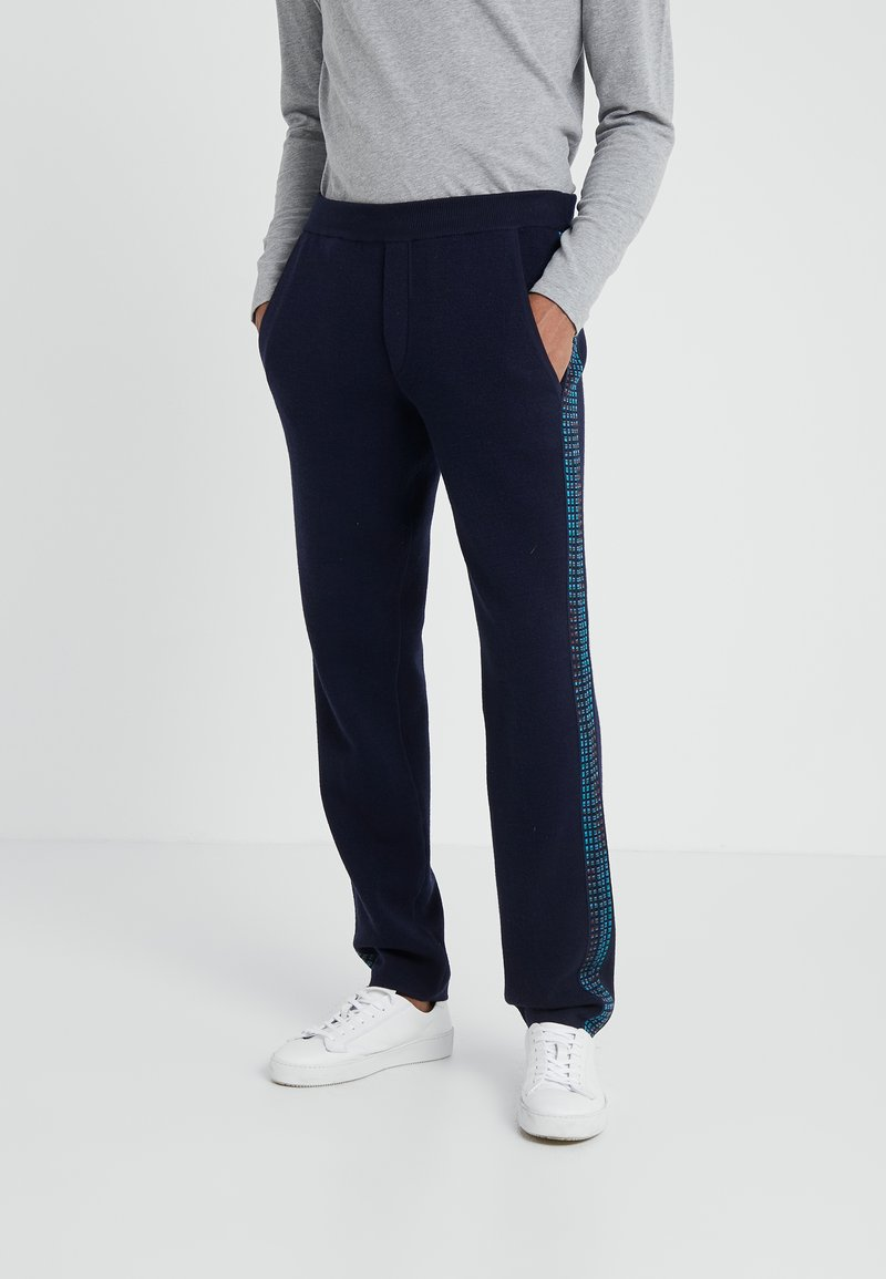 Missoni - PANTALONE - Pantalon classique - navy