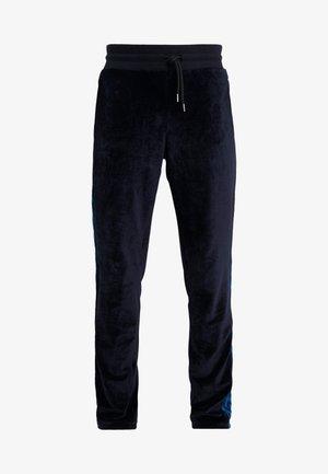 TRACK TROUSERS - Pantalones deportivos - dark blue