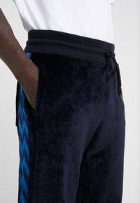 Missoni - TRACK TROUSERS - Træningsbukser - dark blue - 4