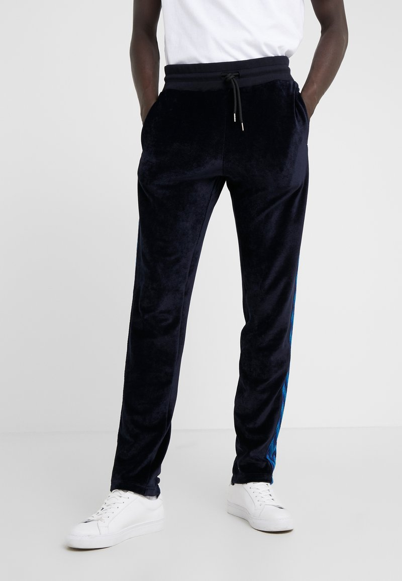 Missoni - TRACK TROUSERS - Træningsbukser - dark blue