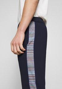 Missoni - TROUSERS - Pantalones deportivos - dark blue - 4