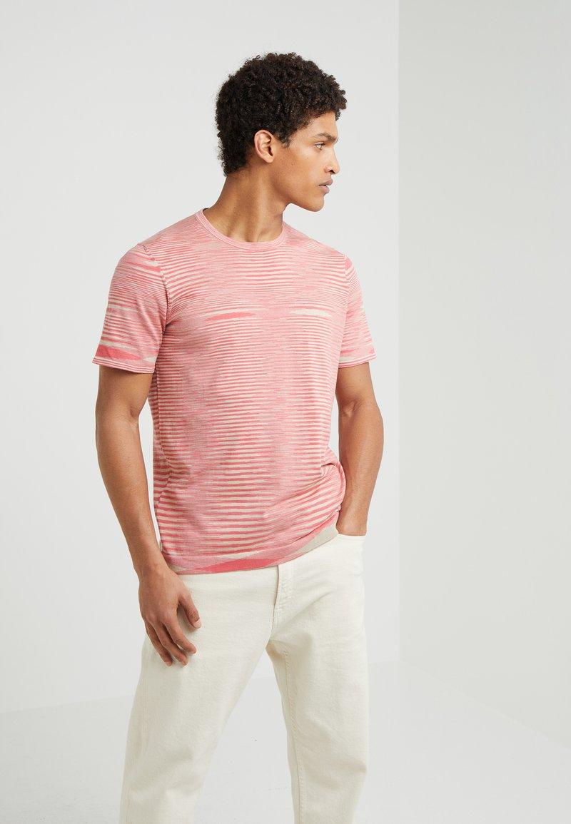 Missoni - T-shirt z nadrukiem - pink