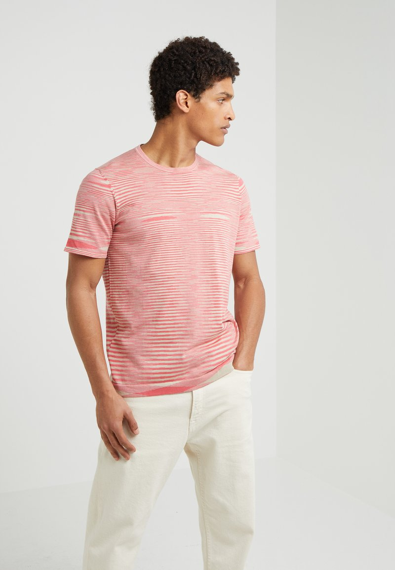 Missoni - Print T-shirt - pink