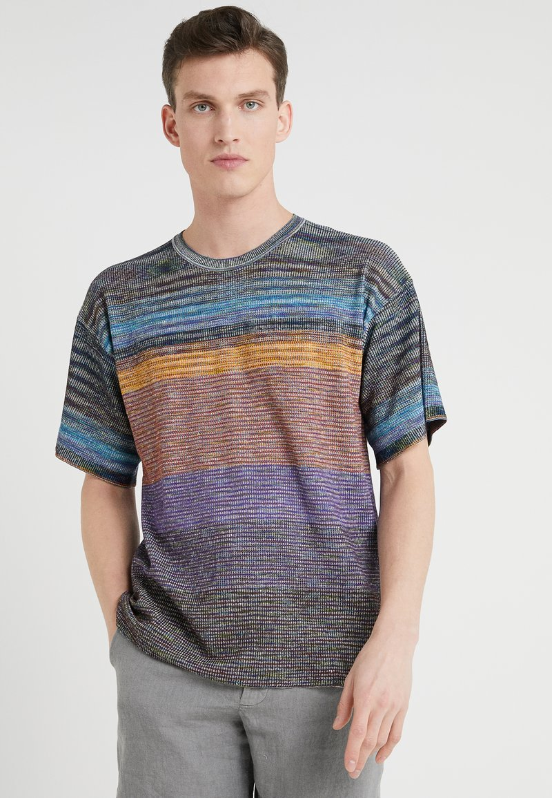Missoni - SHORT SLEEVE CREW NECK - Print T-shirt - multi