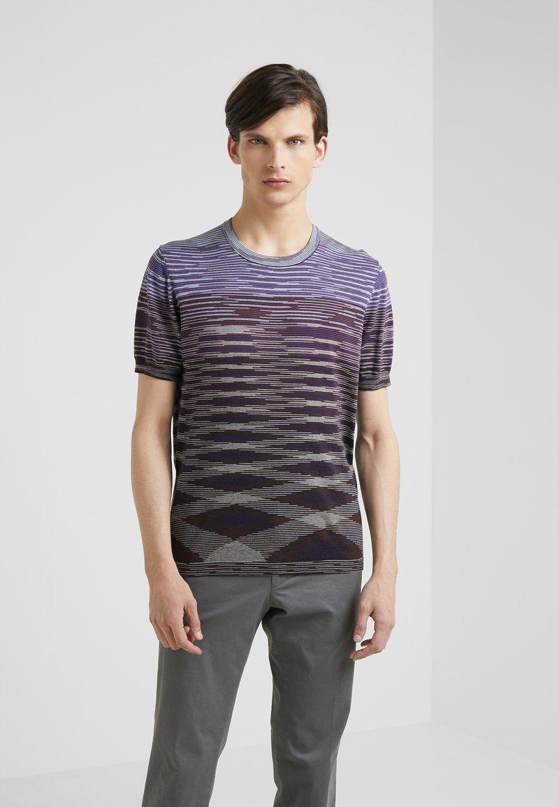 Missoni - SHORT SLEEVE CREW NECK - Print T-shirt - multicolor