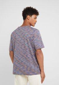 Missoni - SHORT SLEEVE - T-shirts med print - blue - 2