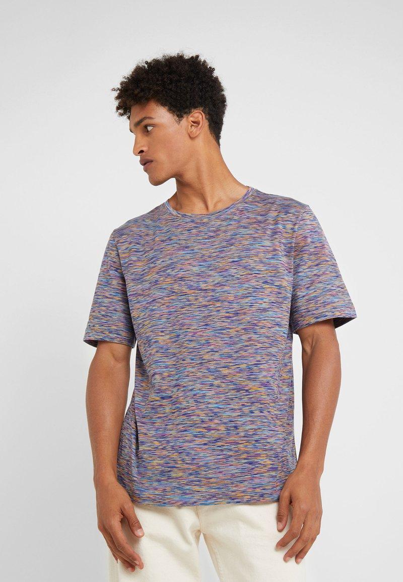 Missoni - T-shirt z nadrukiem - blue