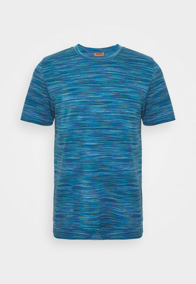 SHORT SLEEVE - T-shirt print - blue