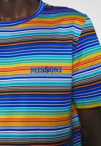 Missoni - SHORT SLEEVE - Camiseta estampada - multi-coloured/blue - 5