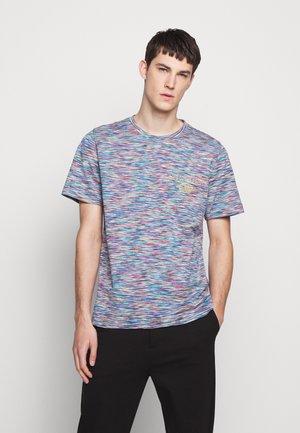 SHORT SLEEVE LOGO - Print T-shirt - multi