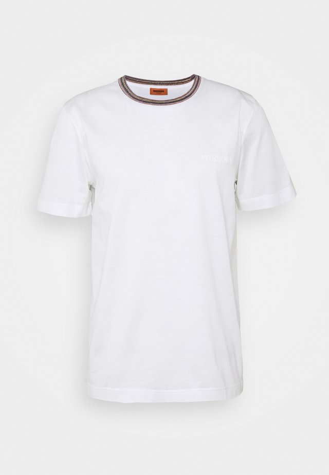 SHORT SLEEVE  - T-shirt - bas - white