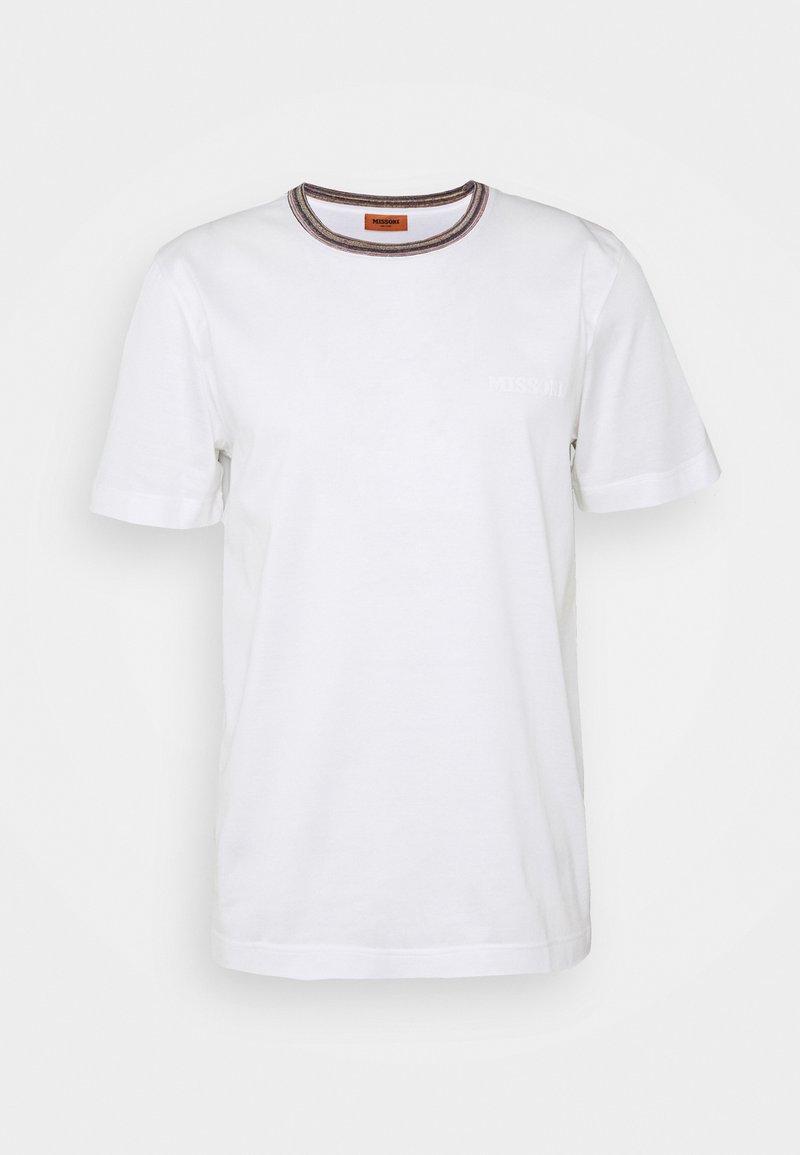 Missoni - SHORT SLEEVE  - Basic T-shirt - white