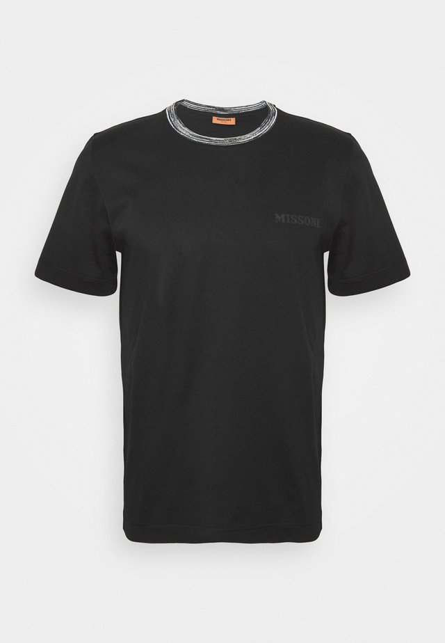 SHORT SLEEVE  - Basic T-shirt - black