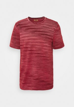 SHORT SLEEVE - Print T-shirt - red