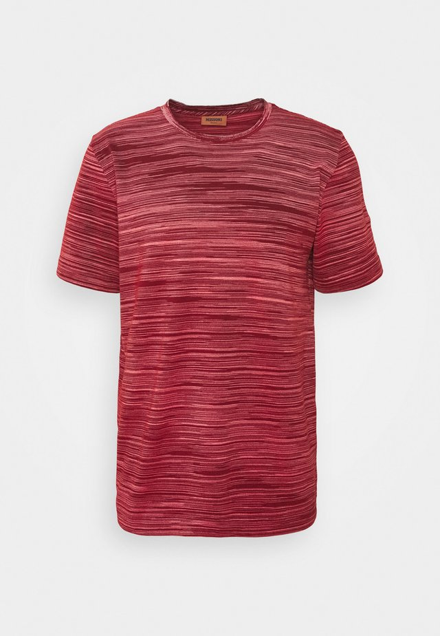 SHORT SLEEVE - T-shirt print - red