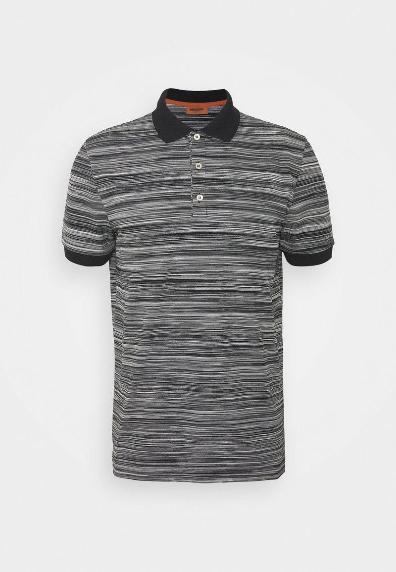 Missoni - SHORT SLEEVE - Polo shirt - black