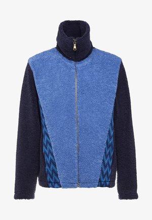 LONG SLEEVE MOCK NECK - Cardigan - blue