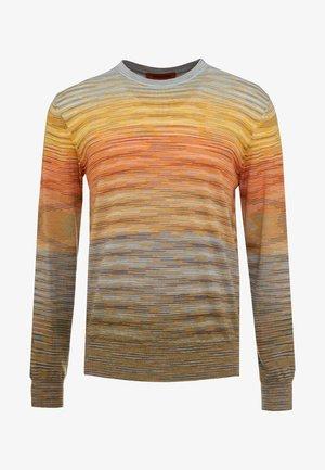 LONG SLEEVE CREW NECK - Stickad tröja - multi-coloured