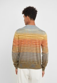 Missoni - LONG SLEEVE CREW NECK - Strickpullover - multi-coloured - 2