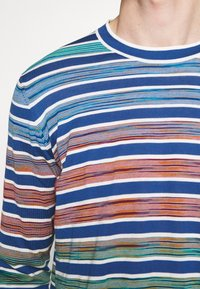 Missoni - LONG SLEEVE CREW NECK - Jersey de punto - blue/multi-coloured - 5