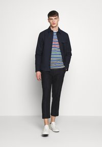 Missoni - LONG SLEEVE CREW NECK - Jersey de punto - blue/multi-coloured - 1