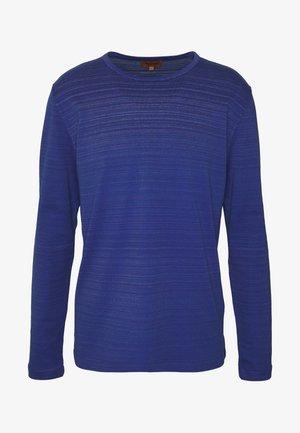 REVERSIBLE CREW NECK - Jumper - blue