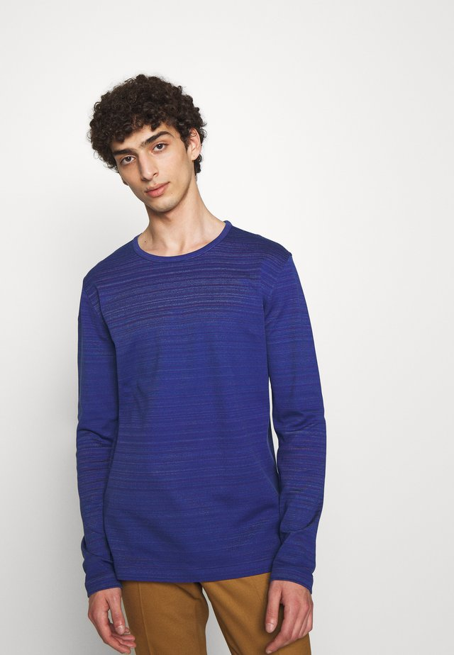 REVERSIBLE CREW NECK - Svetr - blue