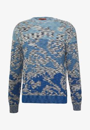 LONG SLEEVE CREW NECK - Jumper - light blue