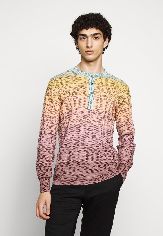 HENLEY - Pullover - pink