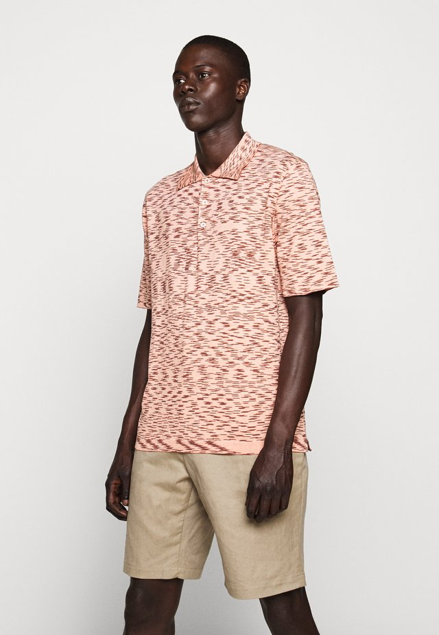 Polo - pink multi