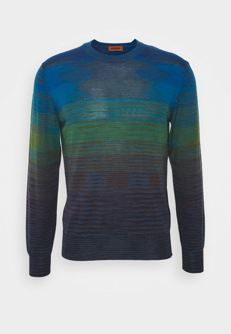 Missoni - LONG SLEEVE CREW NECK - Jumper - dark blue