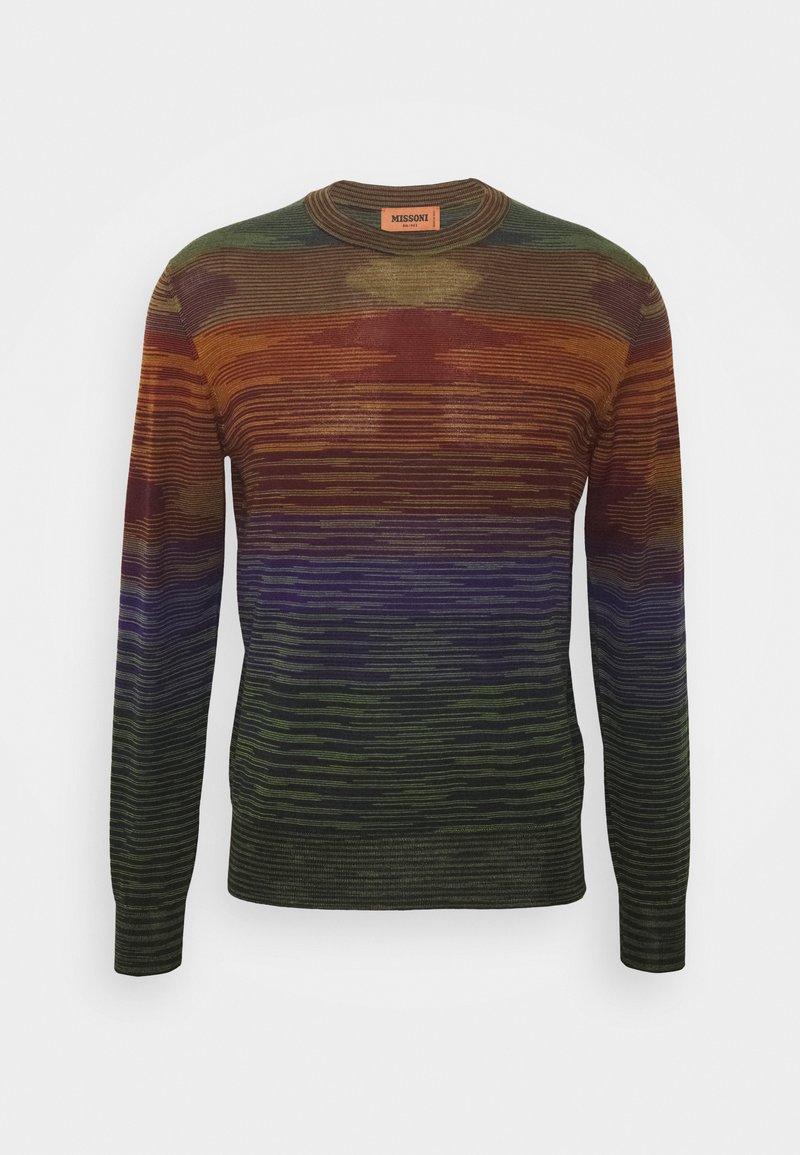 Missoni - LONG SLEEVE CREW NECK - Jumper - multi-coloured