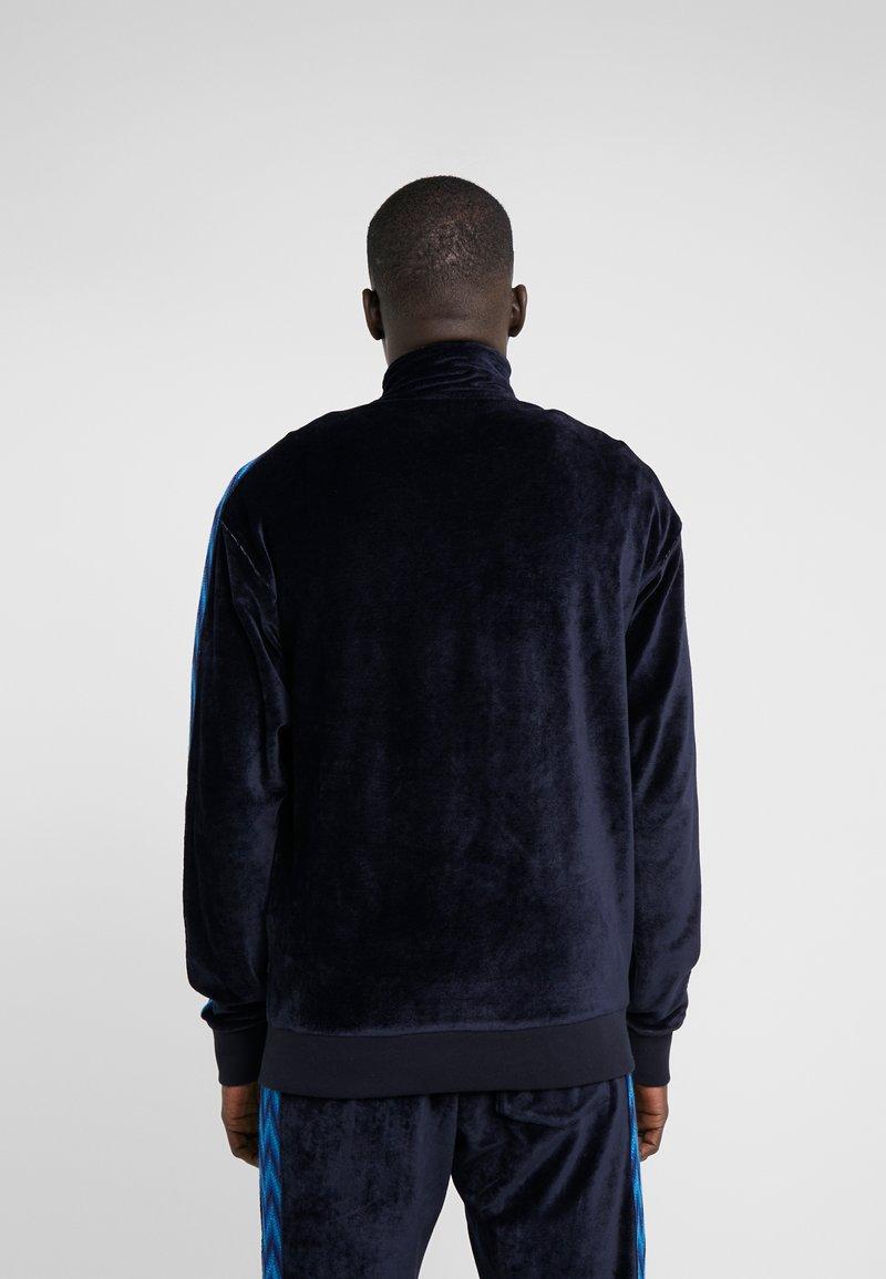 Dark JacketVeste Sweat Missoni Zippée En Blue Track F3uKc1Tl5J