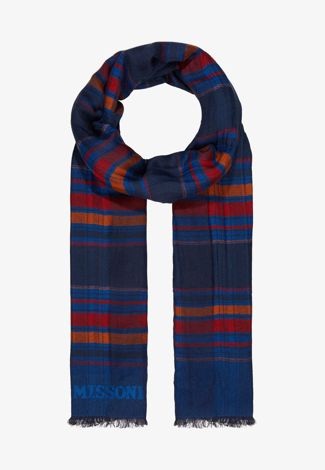 STOLA - Scarf - blue/multi-coloured