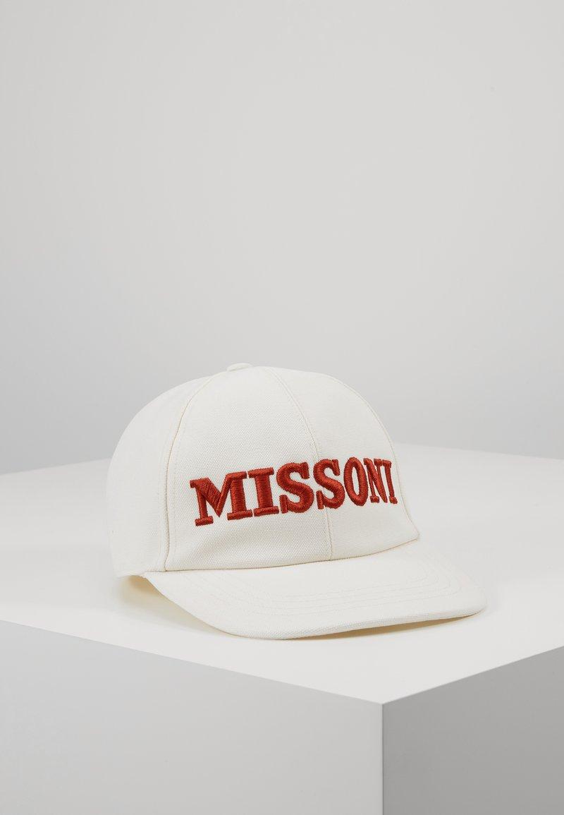 Missoni - EMBROIDERY HAT - Lippalakki - white