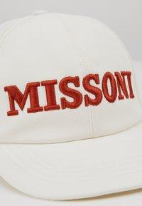 Missoni - EMBROIDERY HAT - Lippalakki - white - 2