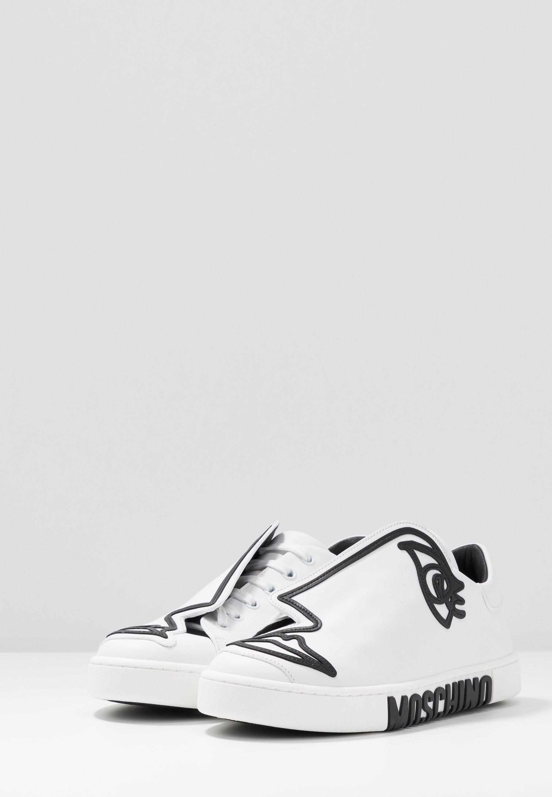 MOSCHINO Baskets basses - bianco
