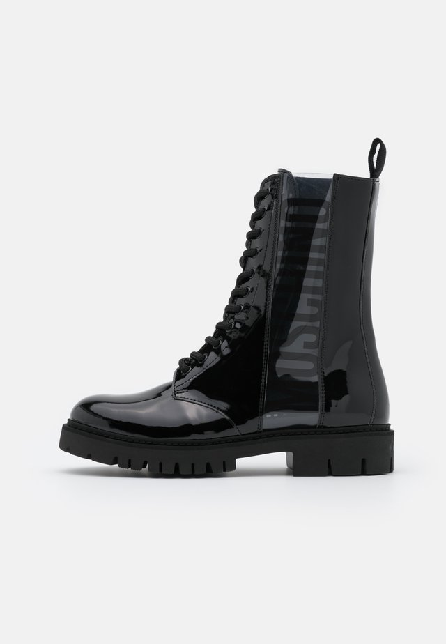 Lace-up ankle boots - fantasy