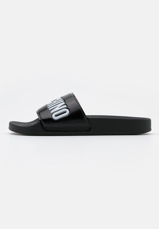 Pantofle - nero/bianco