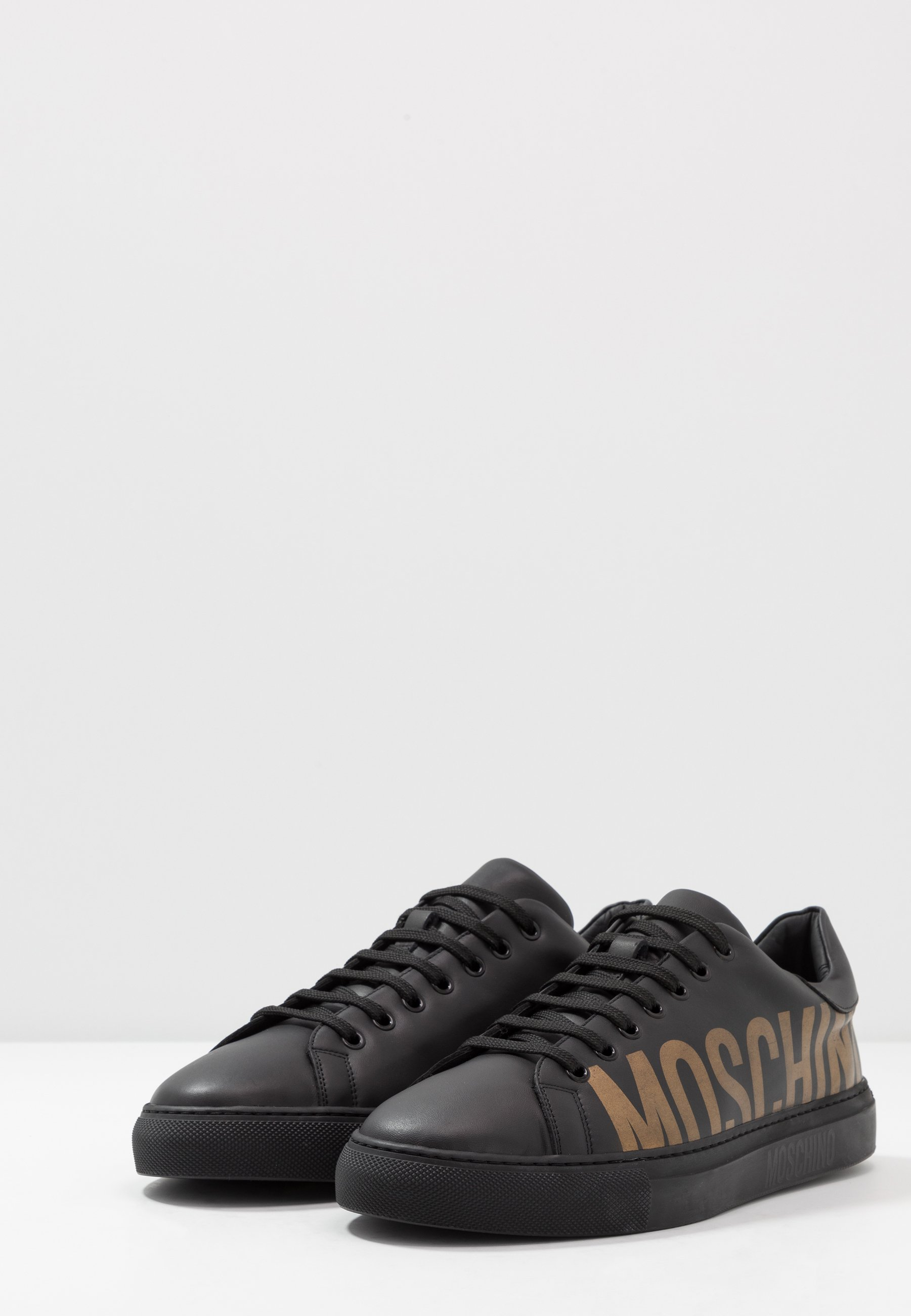 MOSCHINO Sneakers - black/gold