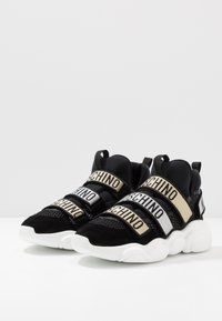 MOSCHINO - Sneakers basse - black - 2