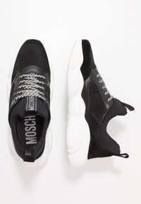 MOSCHINO - Sneakers basse - black - 1