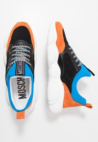 MOSCHINO - Tenisky - orange/black - 1
