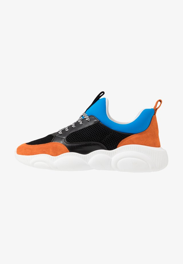 Sneakers laag - orange/black