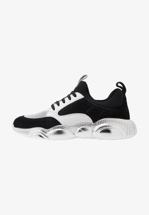 Trainers - white/black/silver