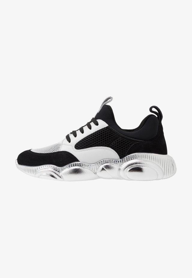 Sneakers laag - white/black/silver