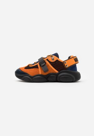 Sneakers basse - nero/blu/ara
