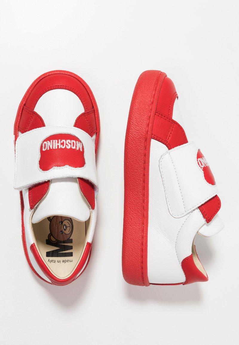 MOSCHINO - Zapatillas - rosso/bianco