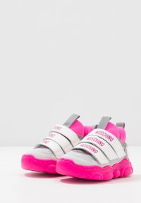 MOSCHINO - Sneakers - white/neon pink - 3