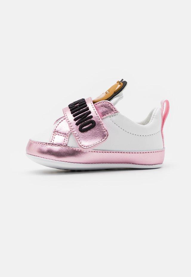Obuwie do raczkowania  - white/light pink
